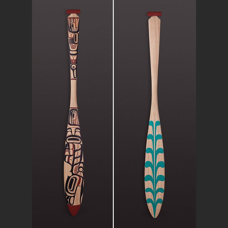 Orca David Boxley - Tsimshian paddle_sq