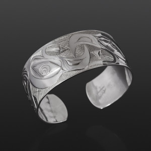 Eagles in Unity Kelvin Thompson Saulteaux/Haisla Silver $700