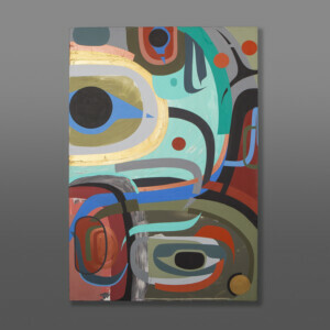 Steve Smith Native Artist contemporary painting