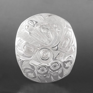 Raven & Light Pendant Kelvin Thompson Haisla Silver  $495