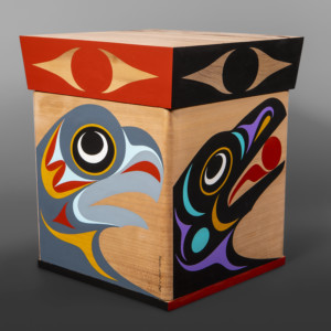 Essence of Life Maynard Johnny Jr Coast Salish bentwood box