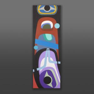Midnight Swim Steve Smith contemporary native painting orca
