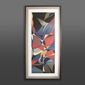 Into the Light Susan Point Coast Salish abstract print
