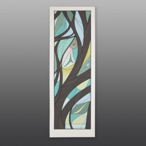 "Tree of Life Susan Point, RCA Coast Salish Serigraph, edition of 55 44"" x 15"" $850"