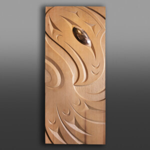 """Flight"" Thunderbird Panel Kelly Cannell Coast Salish"