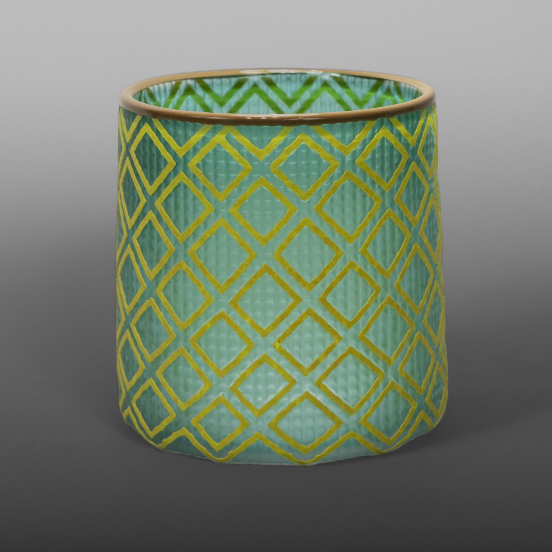 "Forest Leaves Basket Preston Singletary Tlingit Blown & carved glass 4 ¾"" x 5"" dia. $2500"