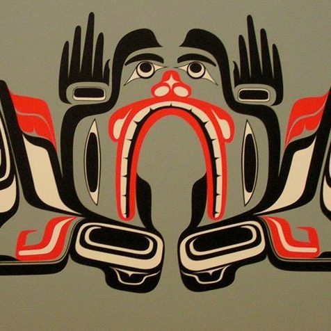 john goodwin nytom mans transforming human transformation makah neah bay seattle modern contemporary traditional green
