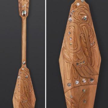 Hummingbird Paddle Troy Roberts Kwakwakawakw