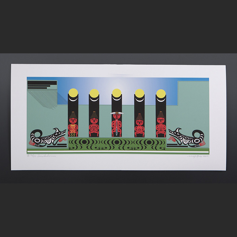 Nytom Makah Smokehouse Limited Print