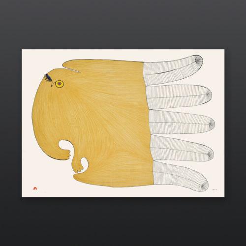 Flirtatious Owl Ningiukulu Teevee Inuit