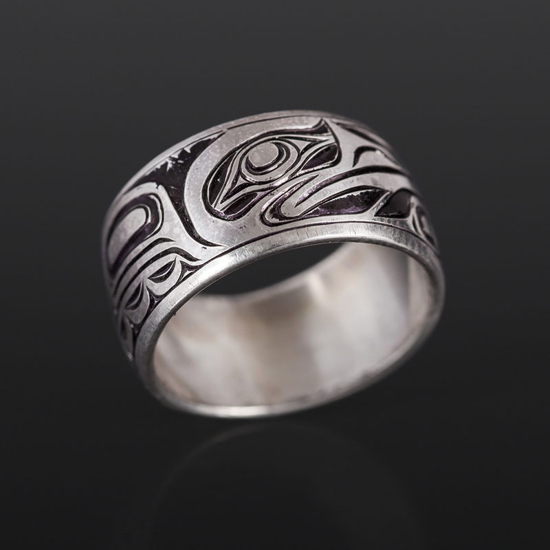 Joe wilson kwakwaka'wakw silver $240 northwest coast jewelry