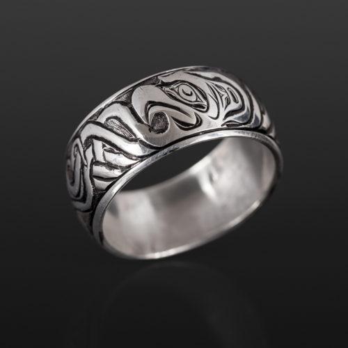 Joe wilson kwakwaka'wakw silver $240 northwest coast jewelry