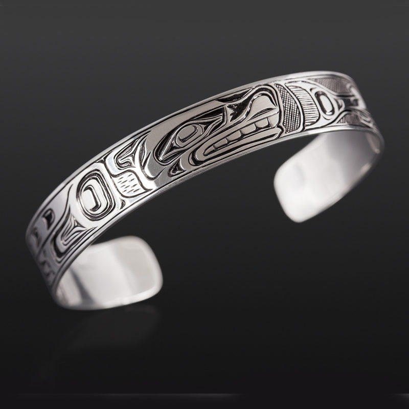 Joe wilson kwakwaka'wakw silver $350 northwest coast jewelry